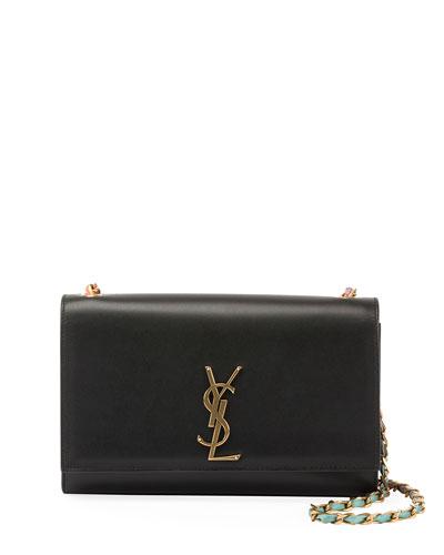 Kate Monogram Smooth Leather Tie-Dye Leather Chain Medium Shoulder Bag