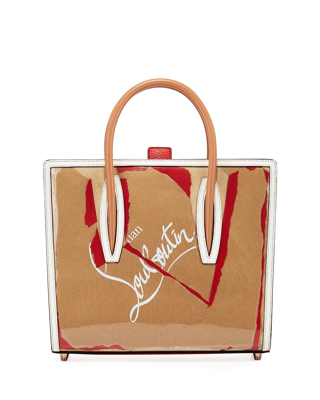 0591a5fe23a Paloma Medium Kraft Loubi Tote Bag