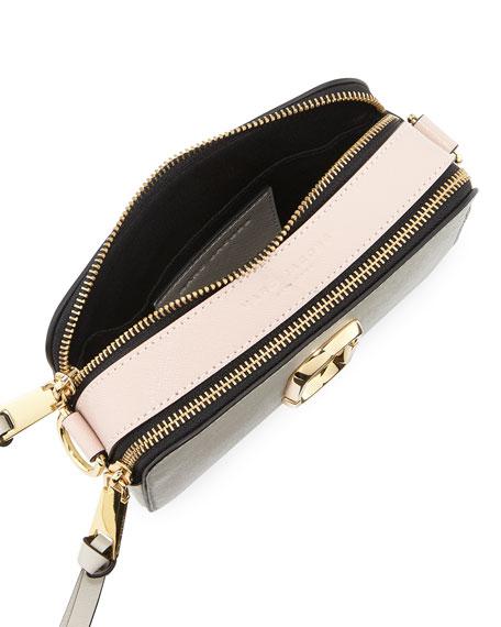 Snapshot Coated Leather Camera Bag