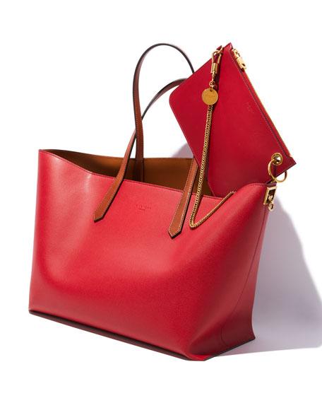 GV Smooth Shopper Crossbody Bag