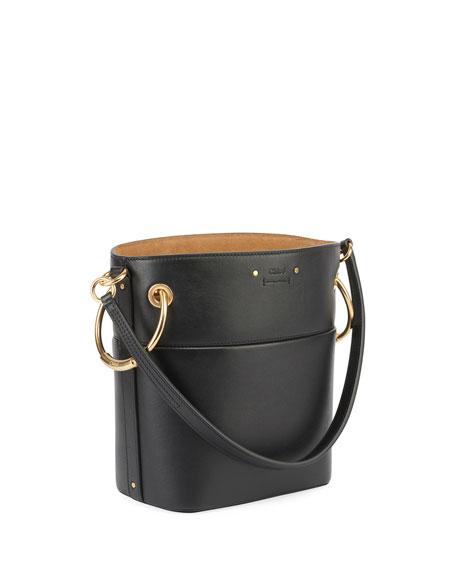 Roy Mini Smooth Leather Bucket Bag