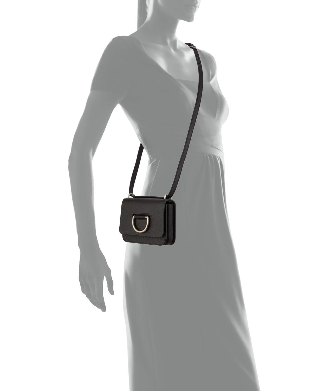c5a015033 Burberry Mini D-Ring Leather Crossbody Bag | Neiman Marcus