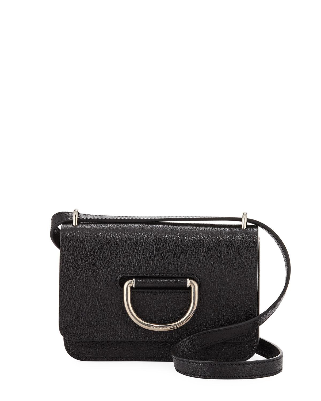 ff6b16a4dd59 Burberry Mini D-Ring Leather Crossbody Bag