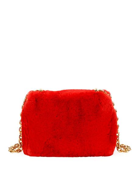 Natalia Large Faux-Fur Shoulder Bag