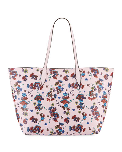 Heather Large Floral Tote Bag