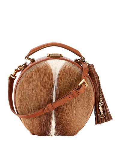 Small Hat Box Crossbody Bag