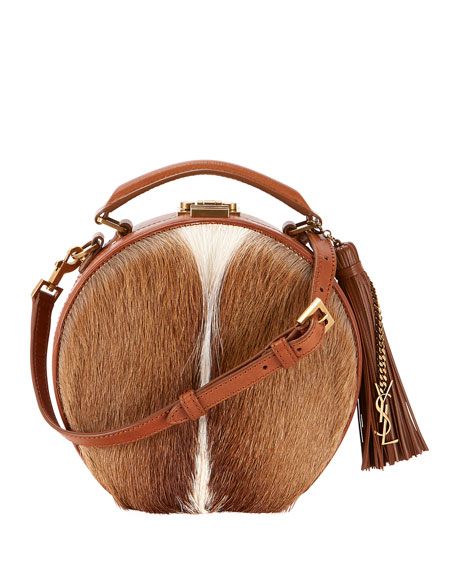 Saint Laurent Small Hat Box Crossbody Bag