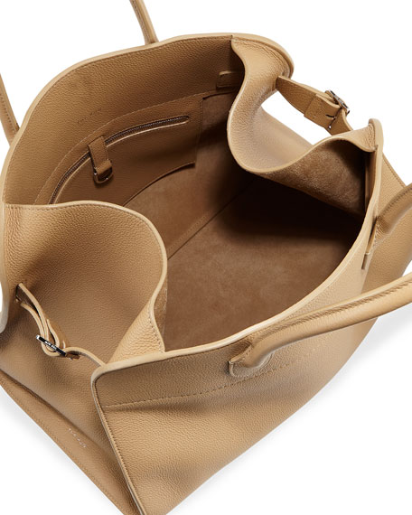 Margaux 15 Grained Leather Top-Handle Bag