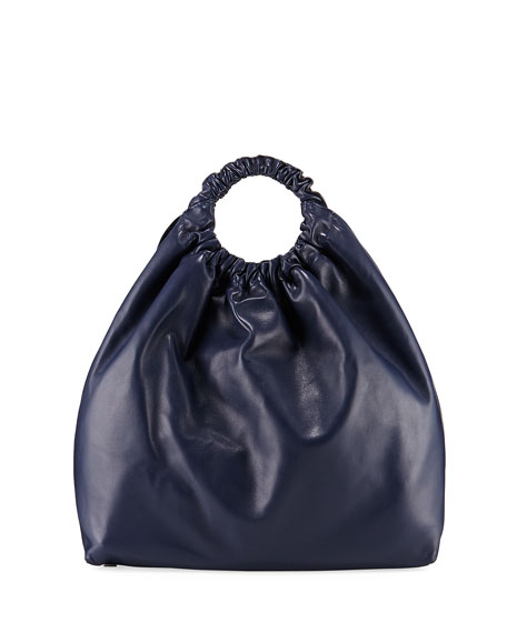 THE ROW Double Circle XL Napa Shoulder Bag