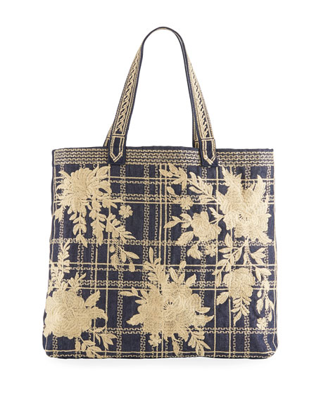 Cayden Everyday Denim Tote Bag