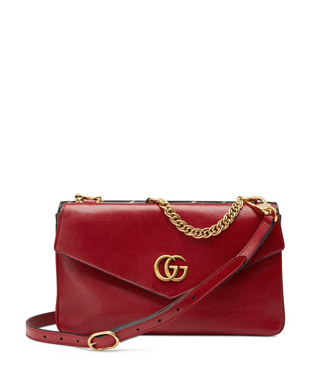 Gucci Thiara Medium Leather Double Shoulder Bag