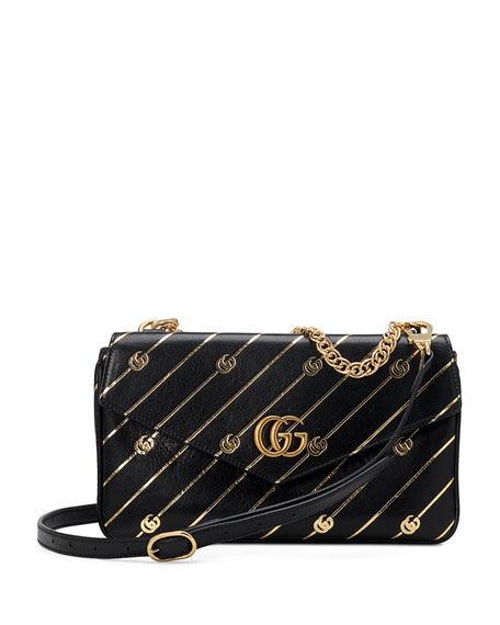 Gucci Thiara Medium Double Envelope Shoulder Bag