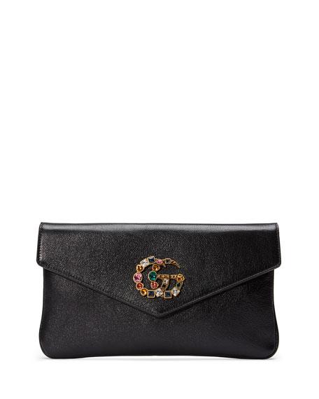 124fec9f8e63 Gucci Broadway GG Envelope Clutch   Neiman Marcus