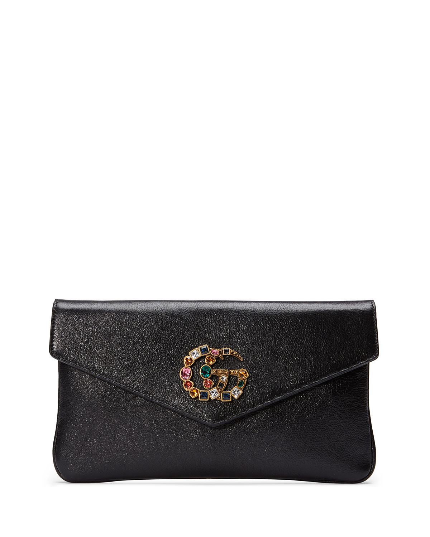 4dbf5936fee4b5 Gucci Broadway GG Envelope Clutch | Neiman Marcus