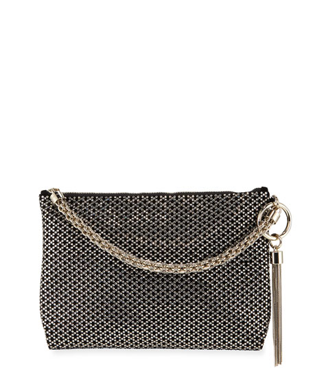 Jimmy Choo Callie Iam Crystal Shoulder Bag