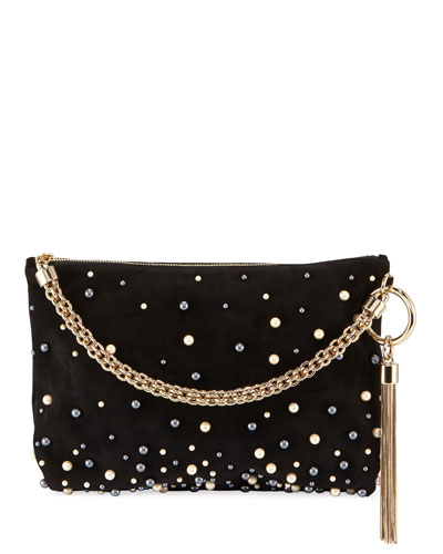 Callie Upe Pearly Shoulder Bag