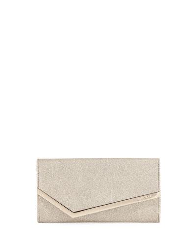 Emmie Dusty Glitter Clutch Bag