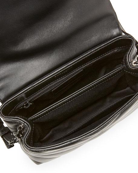 Saint Laurent Loulou Toy Monogram YSL  Quilted Shoulder Bag