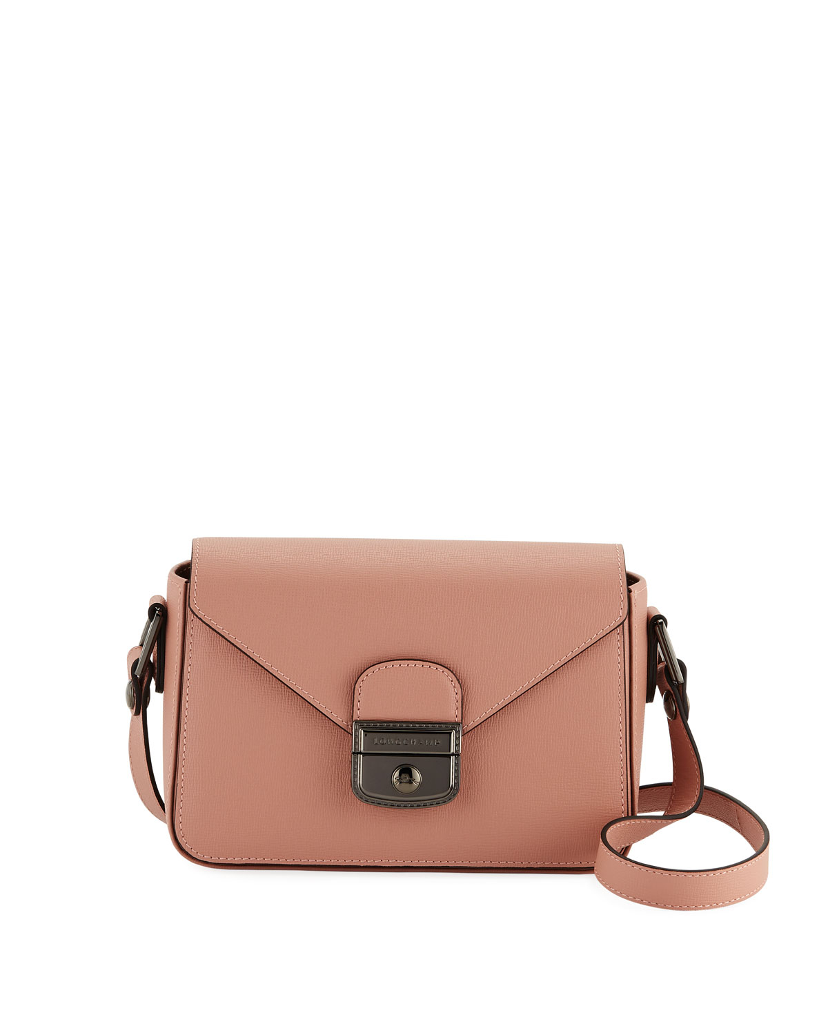 fa463ad8e886 Longchamp Le Pliage Heritage Leather Crossbody Bag