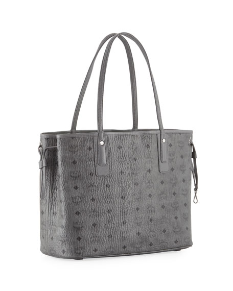 Liz Reversible Medium Visetos Shopper Tote Bag