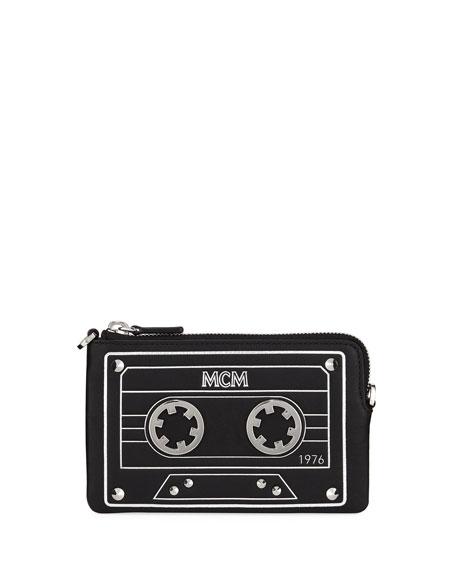 Mini Cassette Tape Clutch Bag
