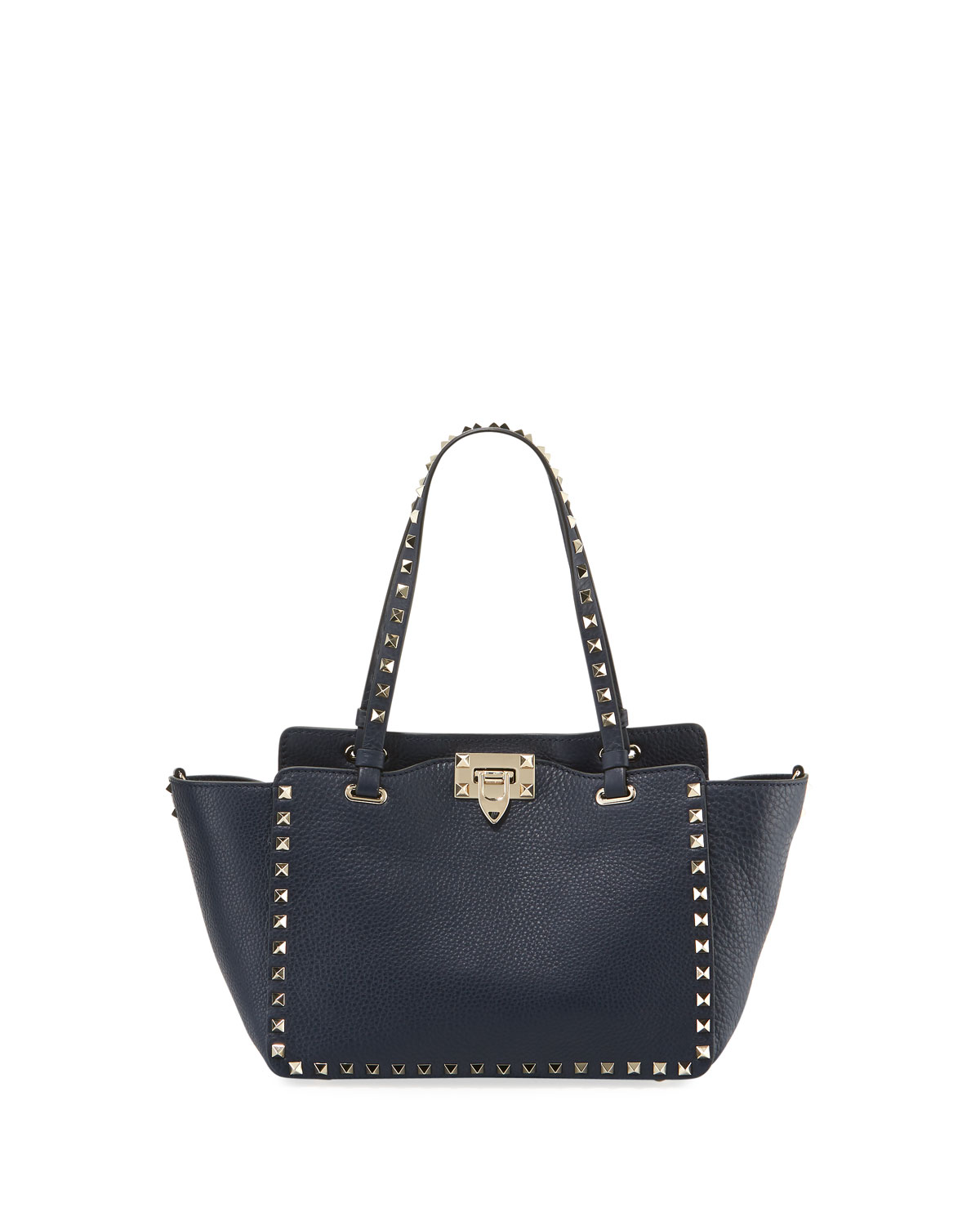 d9346d90113 Valentino Garavani Rockstud Medium Leather Tote Bag