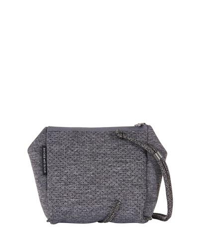 Festival Mini Crossbody Bag  Luxe Charcoal Marl