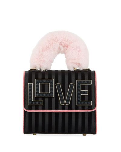 Baby Alex Black Widow Top Handle Bag