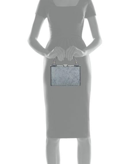 Edie Parker Housewife Solid Top-Handle Bag