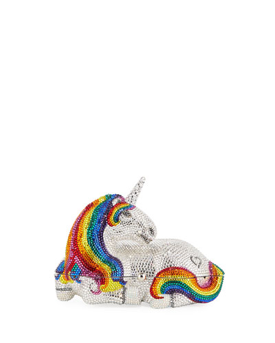 Unicorn Orania Crystal Clutch Bag
