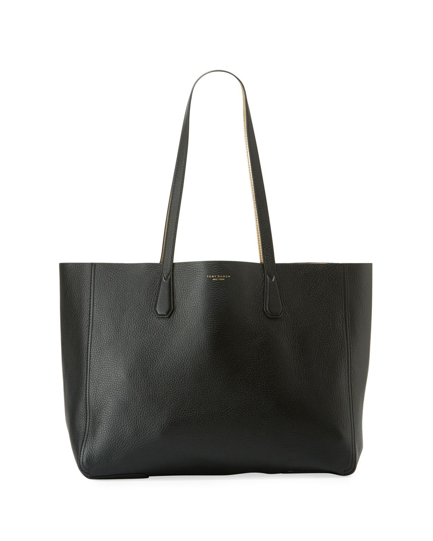 d188946ae1c1 Tory Burch Phoebe Reversible Metallic Tote Bag
