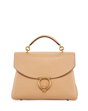 Salvatore Ferragamo Margot Medium Top Handle Bag b1f22c379fc7d