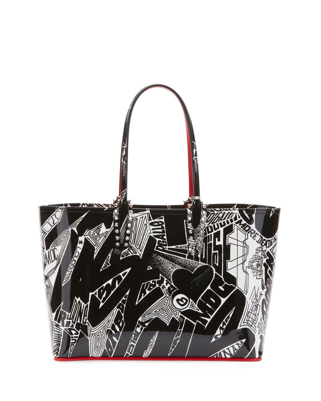 d45c2503efa Cabata Small Patent Nicograf Tote Bag