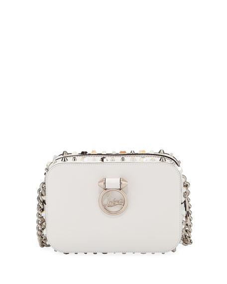 Christian Louboutin RubyLou Mini Calf Crossbody Bag with 77c11c79e85b