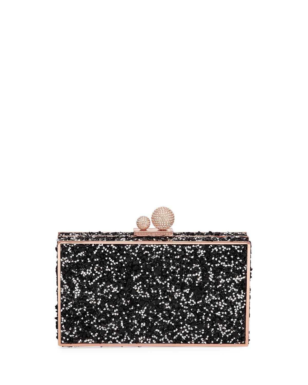 b06175b44e93b Sophia Webster Clara Crystal Box Clutch Bag