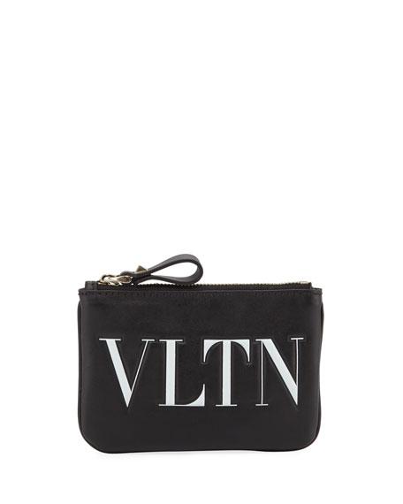 Valentino Garavani VLTN Leather Coin Purse