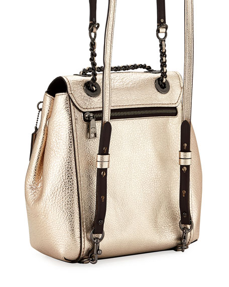 Coach 1941 Parker Metallic Backpack