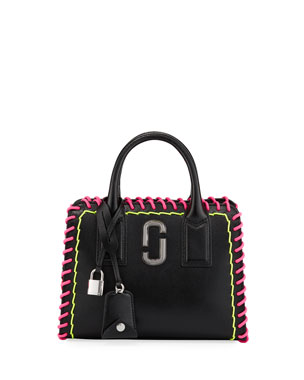c87a3725bf47 Marc Jacobs Little Big Shot Whipstitches Tote Bag