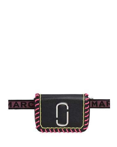 Hip Shot Whipstitched Belt Bag Fanny Pack