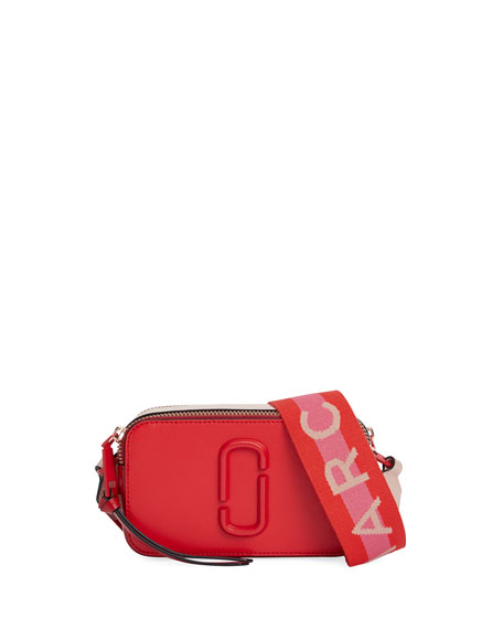 The Marc Jacobs Snapshot Dual-Tone Leather Crossbody Camera Bag