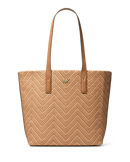MICHAEL Michael Kors Junie Large Chevron Tote Bag