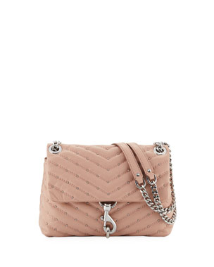 ed54befdb843 Rebecca Minkoff Edie Quilted Leather Crossbody Bag