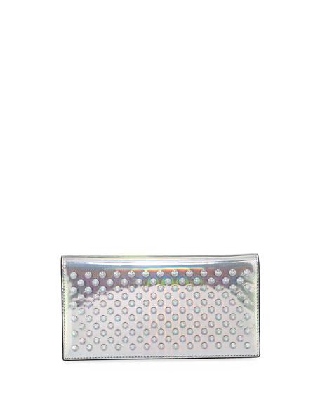 Christian Louboutin Boudoir Chain Studded Wallet