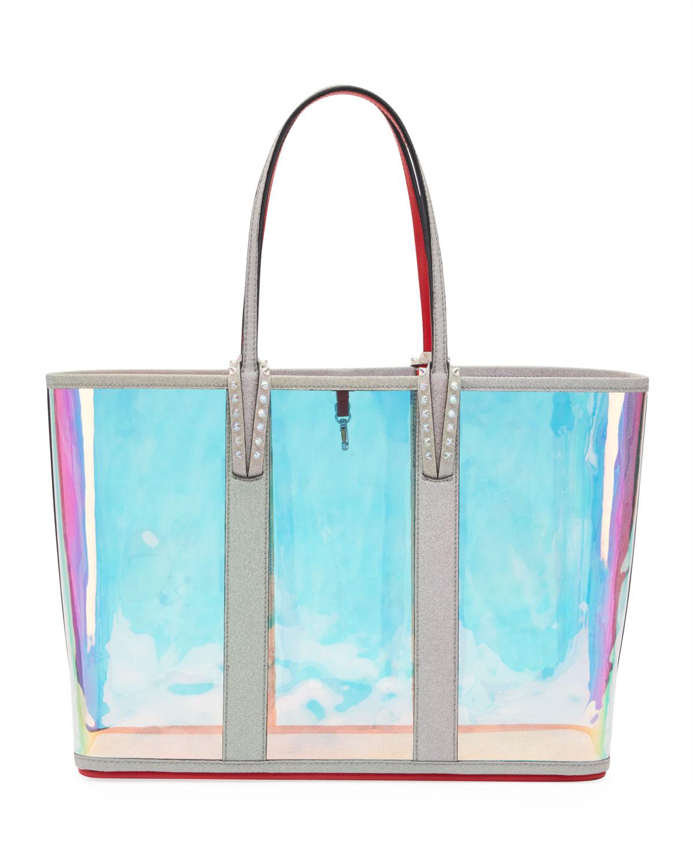 be2ddae3916 Cabata Glitter Sunset Vinyl Tote Bag