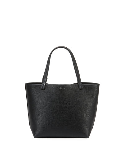 Park Small Luxe Grained Leather Tote Bag