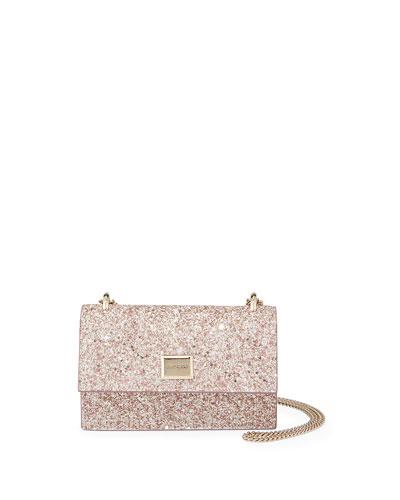Leni Painted Glitter Clutch Bag