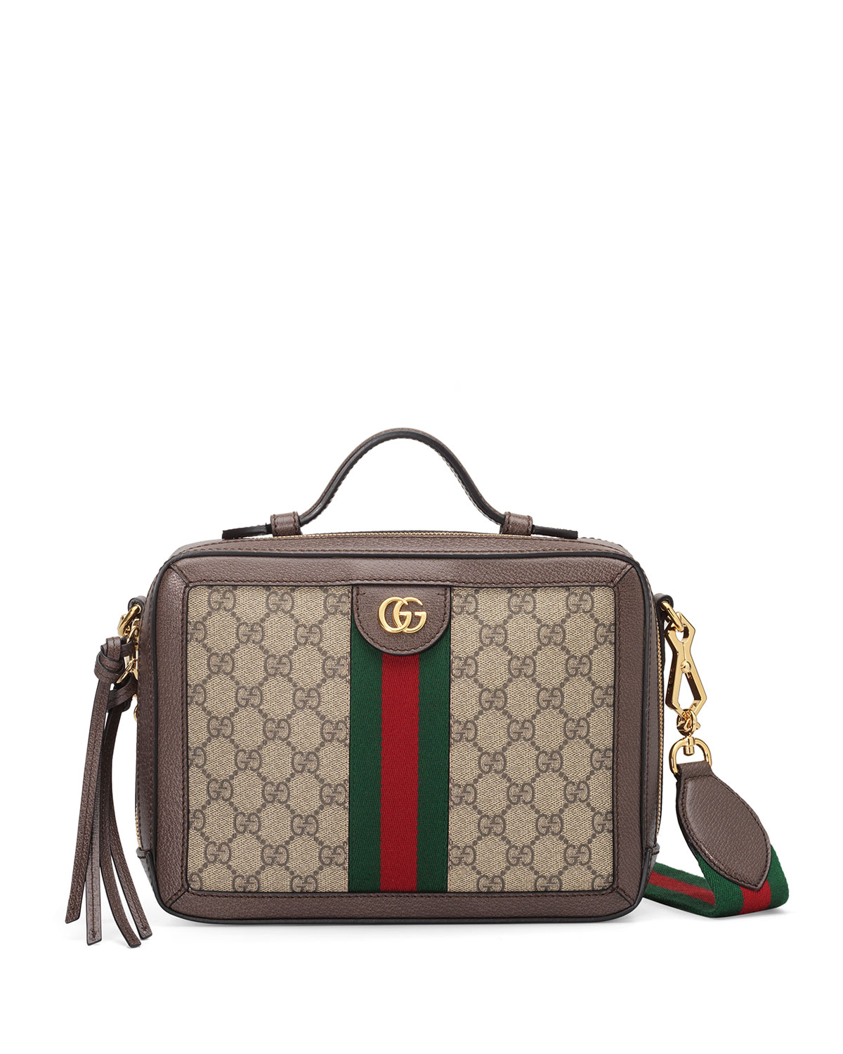 8a60e7eb4 Gucci Ophidia Small GG Supreme Shoulder Bag | Neiman Marcus