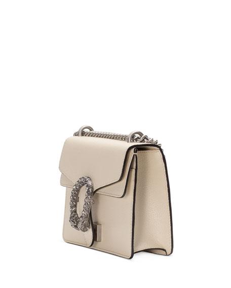 Gucci Dionysus Mini Leather Shoulder Bag with Crystal Tiger Spur
