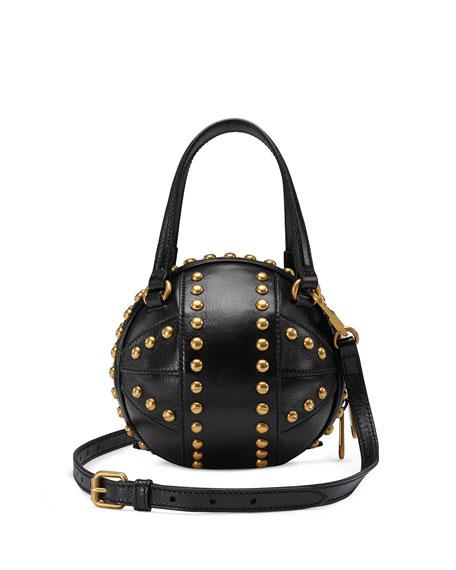 Gucci Tifosa Mini Studded Sphere Shoulder Bag