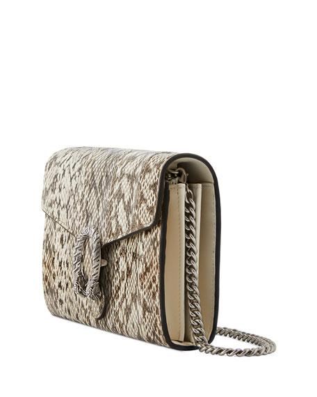 Gucci Snakeskin Mini Crossbody Bag